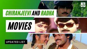 Chiranjeevi and Radha Movies List